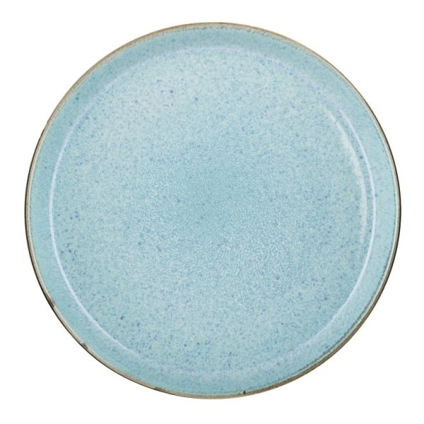 Bitz-plate-gray-light blue-27-cm