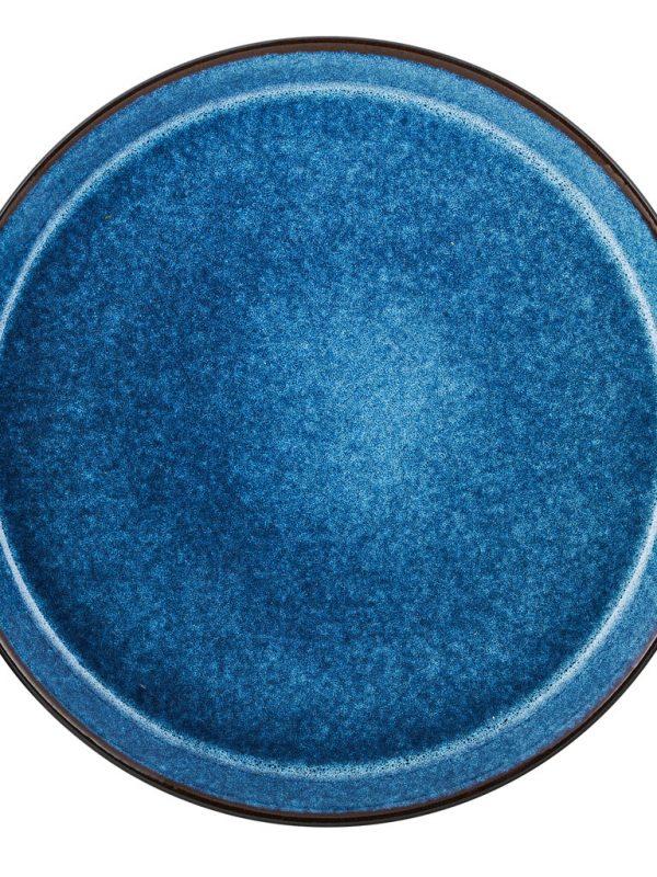 Bitz-plate-black-dark blue-27-cm
