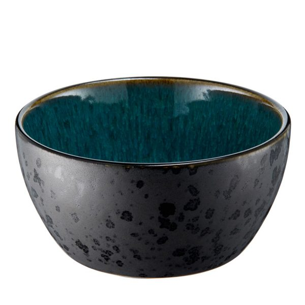 Bitz bowl-6cm high-black-green - 12 cm