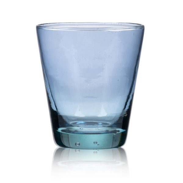 Bitz-water glass-blue-Kusintha-30-cl