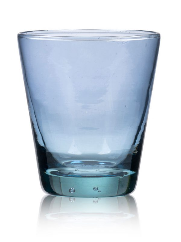 Bitz-water glass-blue-Kusintha-30-cl