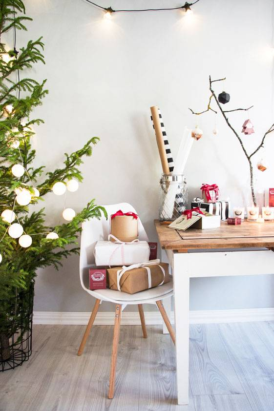 Klinta gift box three Christmas scented candles 3
