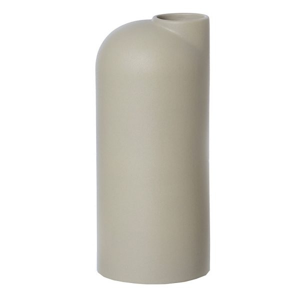 Oohhx living ceramic vase Anna sand color nordicliving