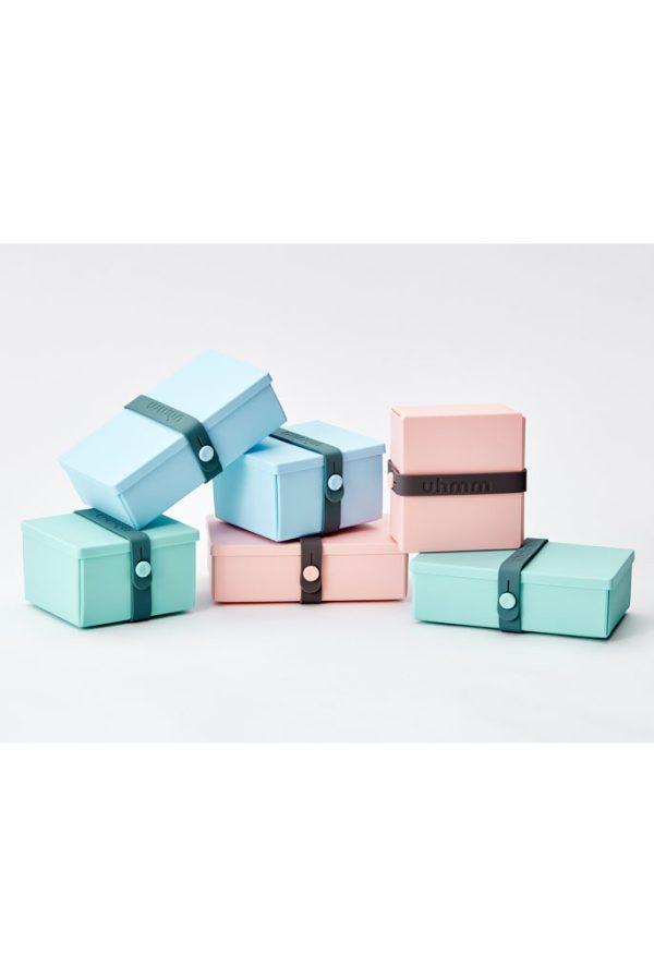 Uhmm Box blue white foldable
