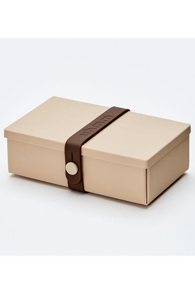 Uhmm Box brown mocha lunch box