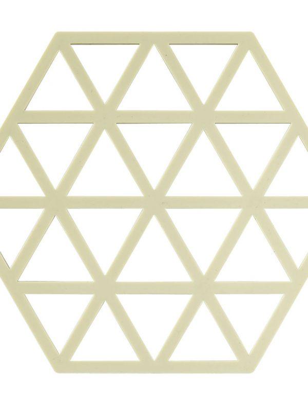 Zone-Denmark-onderzetter-siliconen-limoen-hexagon