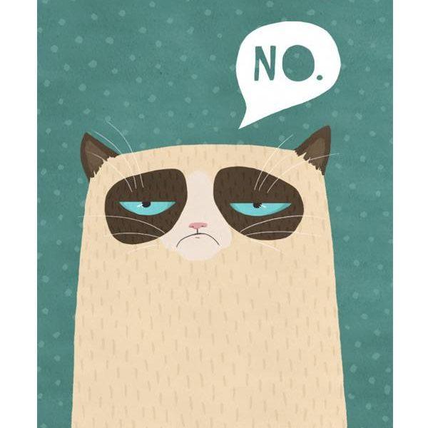 Poster Grumpy Cat 2