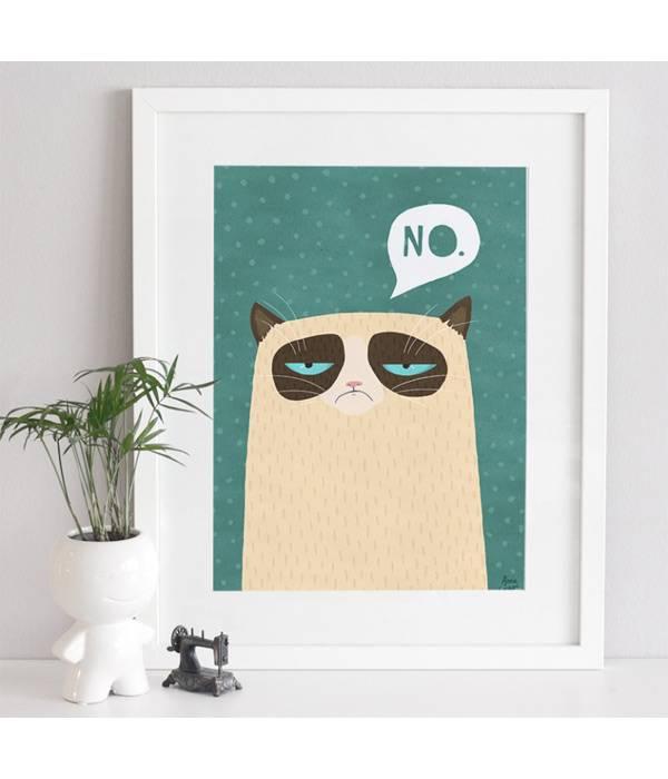 Poster Grumpy Cat 3