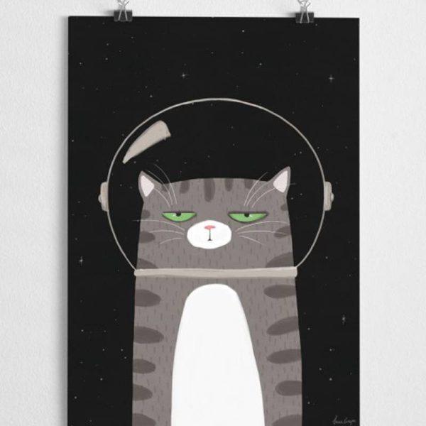 Poster Kinderkamer Kat