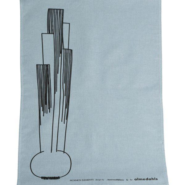almedahls-light blue-tea towel-picnic-onion-nordicliving