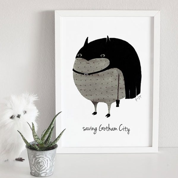 Nursery Poster Batman 2