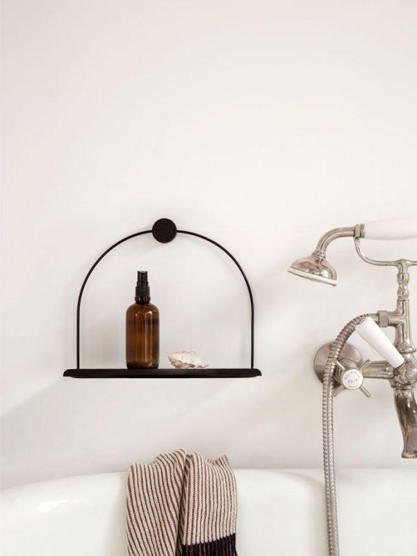 ferm-living-badkamer-wandplank-zwart-nordicliving