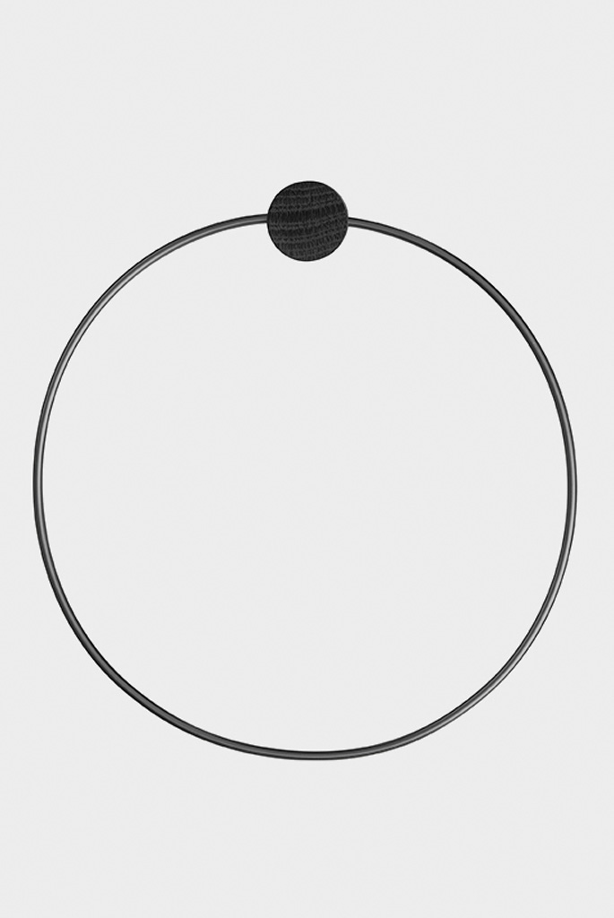 ferm-living-towels-holder-towel-hanger-black