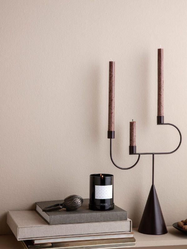 ferm-living-kandelaar-candelabra-dark-aubergine-nordicliving