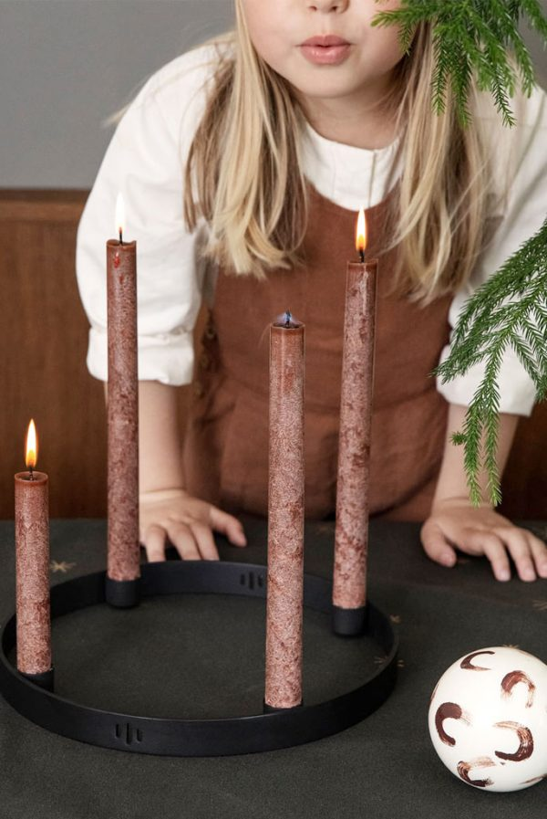 firm-living-set-dinner-candles-uno-red-brown