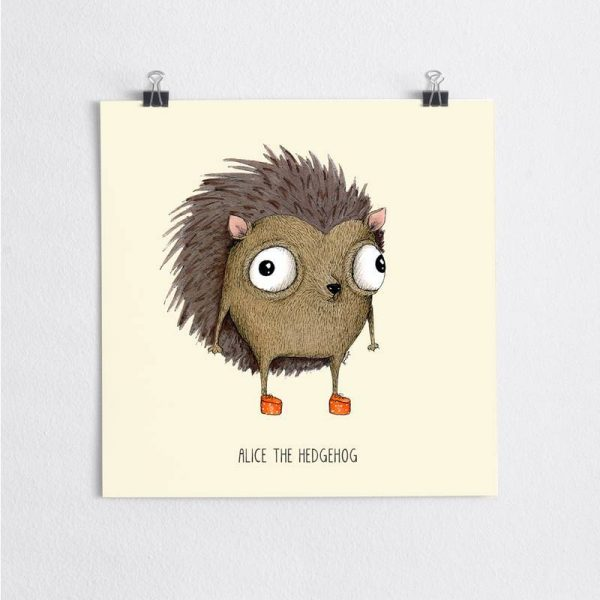 Poster Hedgehog Nursery 2