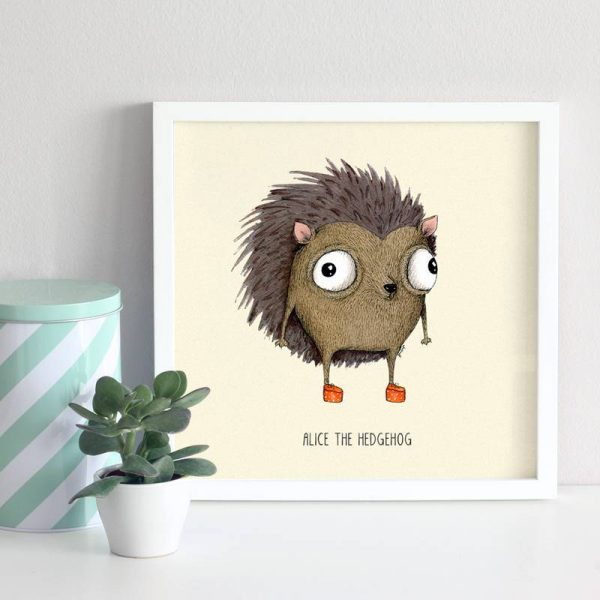 Poster Hedgehog Nursery