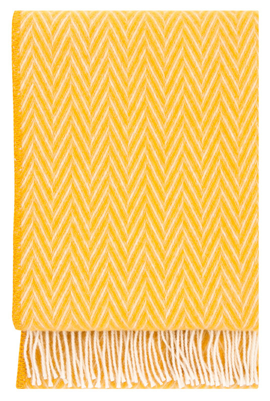 lapuan-kankurit-lida-blanket-yellow-gele-plaid