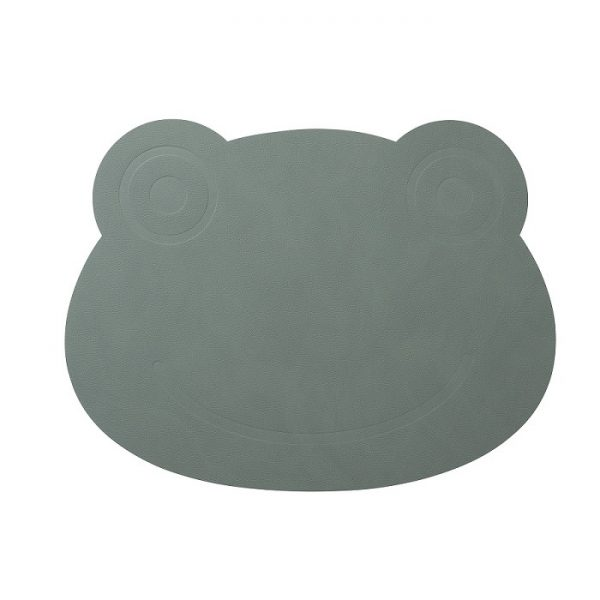 linddna-kids-placemat-frog-pastel-groen