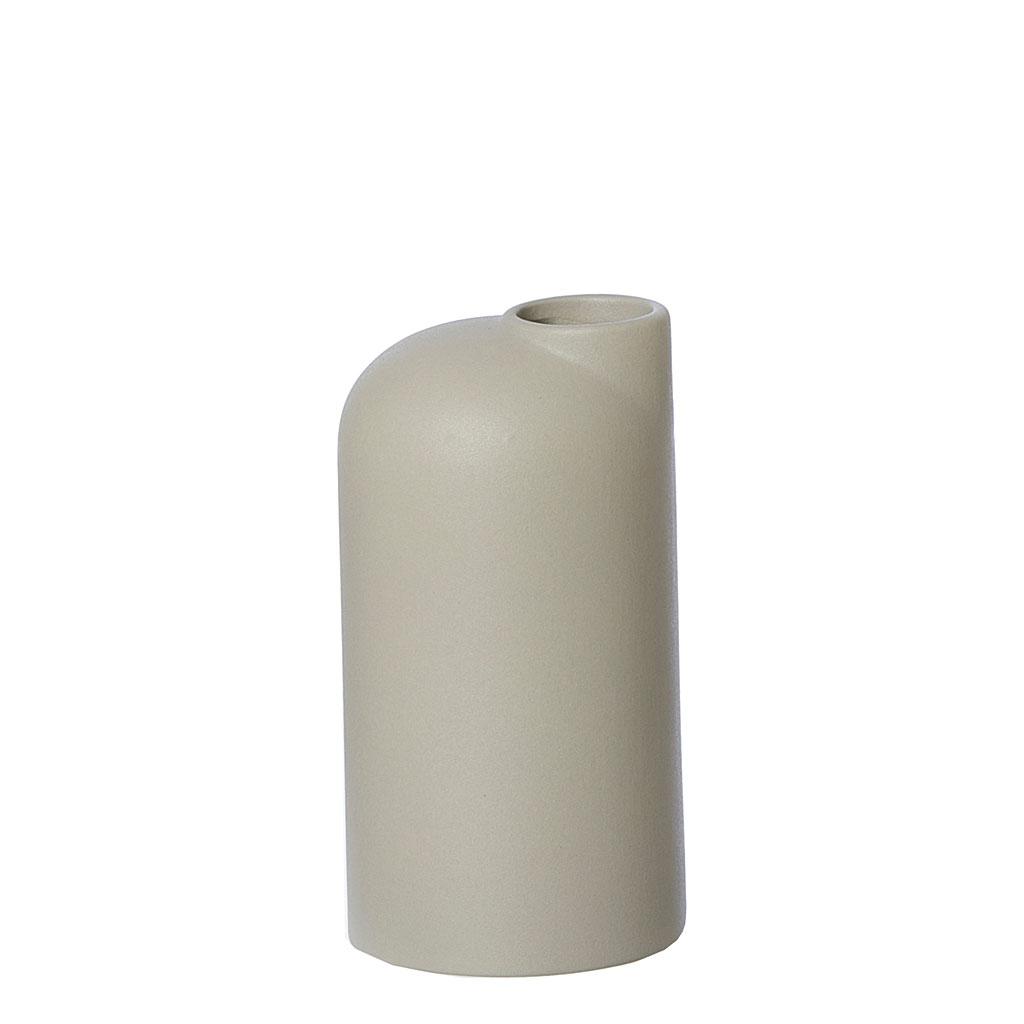 oohhx living keramieken vaas zandkleur ceramic vase Anna