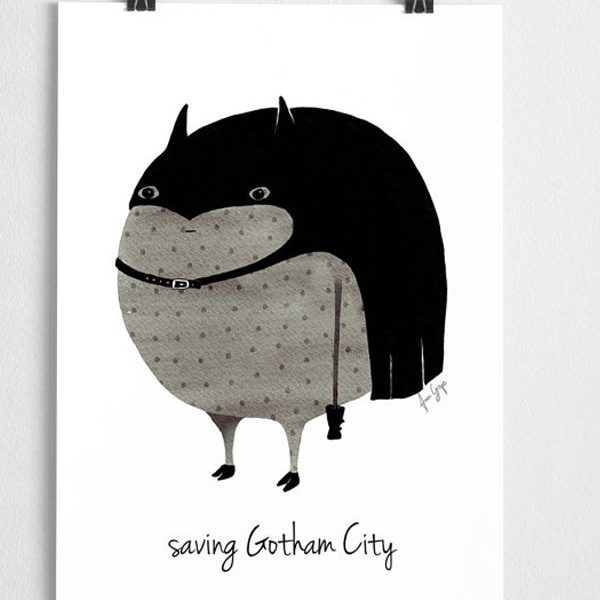 Nursery Poster Batman
