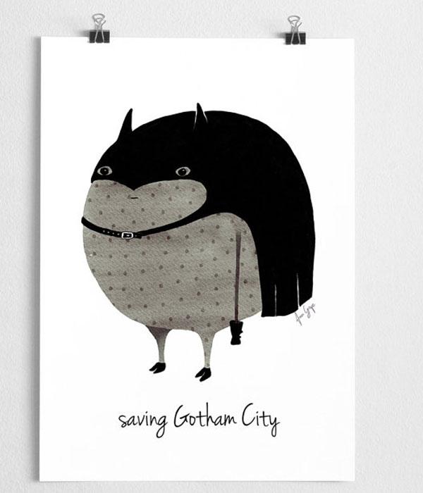 Nursery Poster Batman