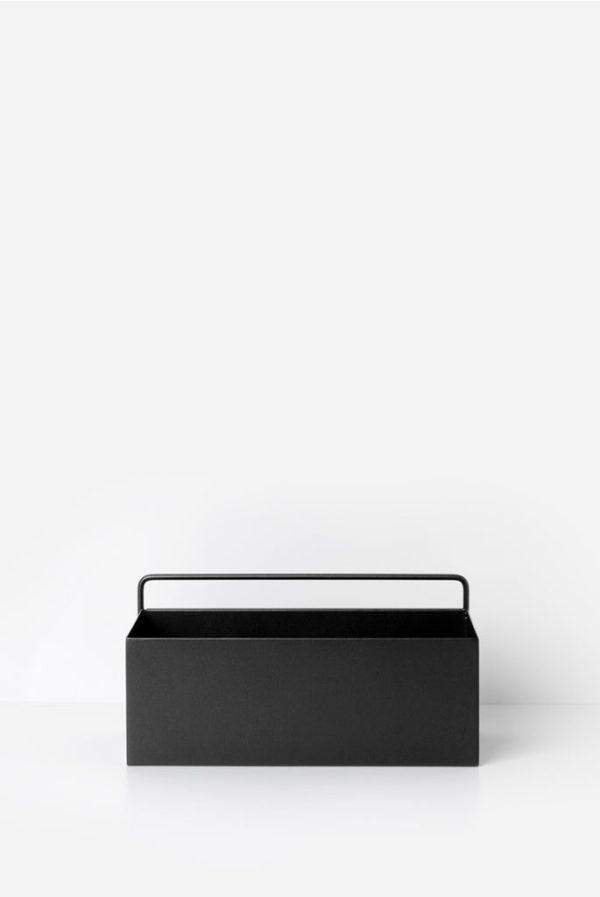 wall shelf-fermliving-black-metal-wall-box-rectang