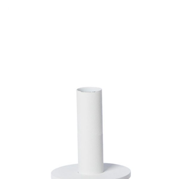 white candle holder danish design nordicliving