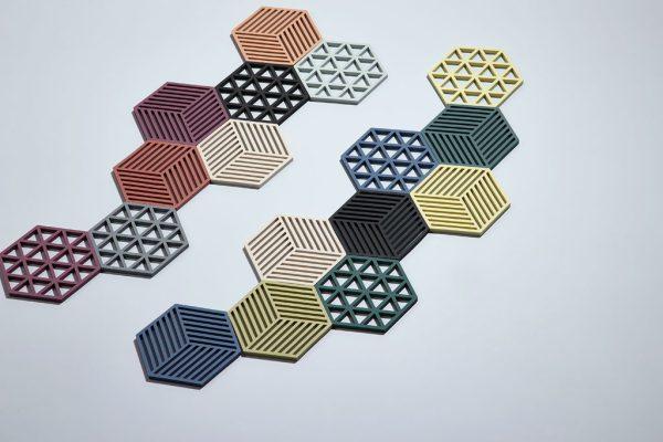 zone-denmark-onderzetters-hexagon-trivet-coasters