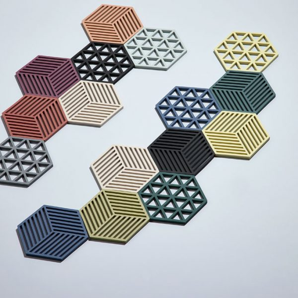 zone-denmark-coasters-hexagon-trivet-coasters