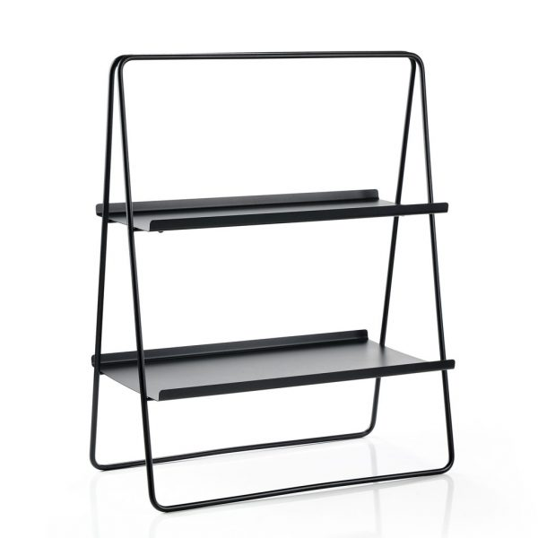 zone-denmark-storage rack-storage table-black