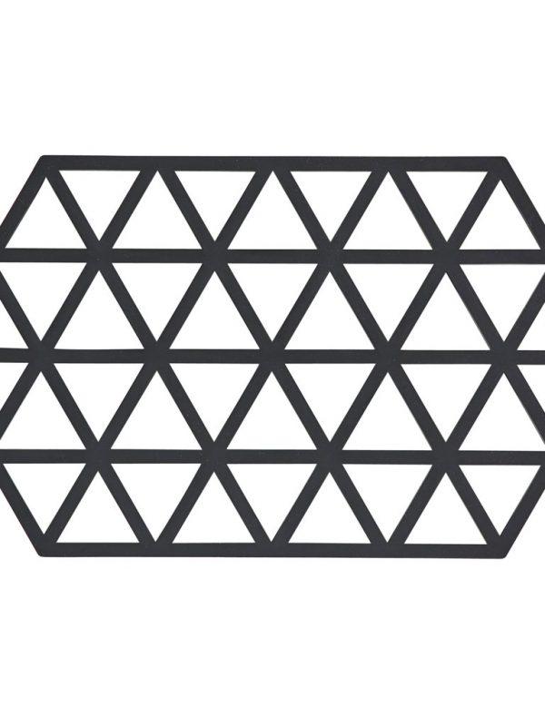 zone-denmark-pannenonderzetter-triangle-zwart