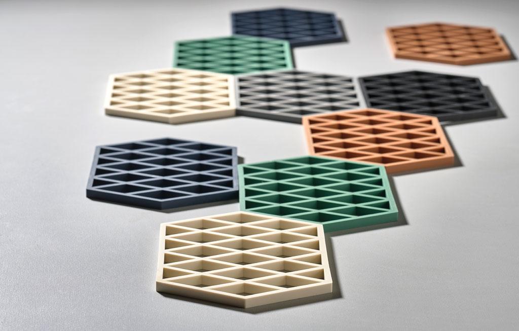 zone-denmark-siliconen-pannenonderzetter-zwart-triangle-trivet