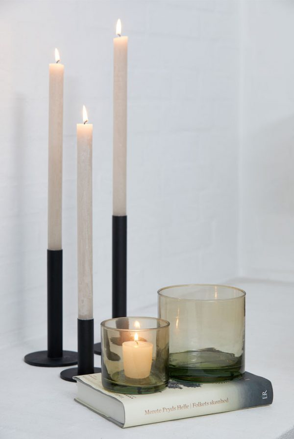 black candle holders danish design metal candle holder