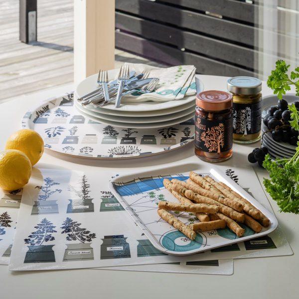 Almedahls-Tischset-Kräuter-2