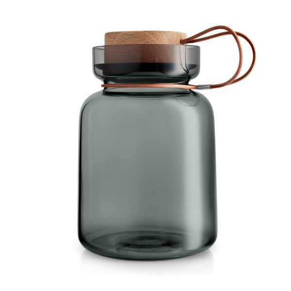 Eva Solo Storage jar Silhouette 1,5 liters black