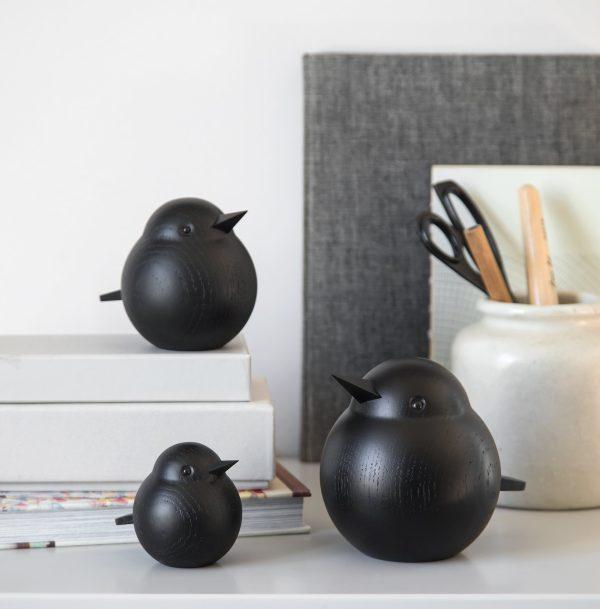Novoform - Mus figuurtjes hout zwart