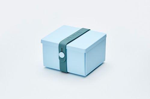 Uhmm Box blauw petrpol vouwbare trommel
