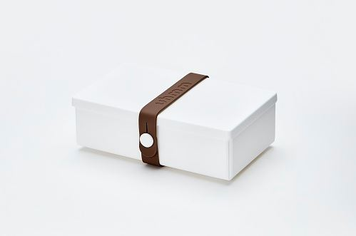Uhmm Box white brown foldable