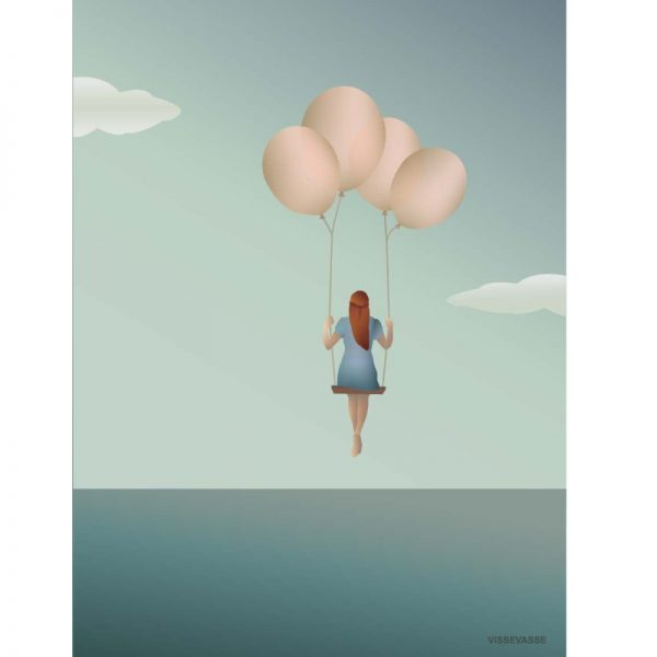 Vissevasse Poster Balloon Dream