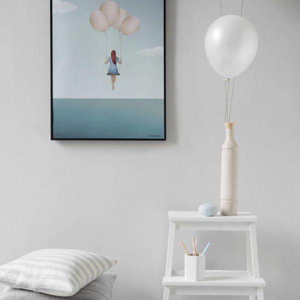 Vissevasse Poster Balloon Dream 50x70cm
