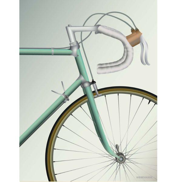 Vissevasse Poster Racing Bicycle