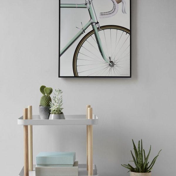 Vissevasse Poster Racing Bicycle 30x40cm