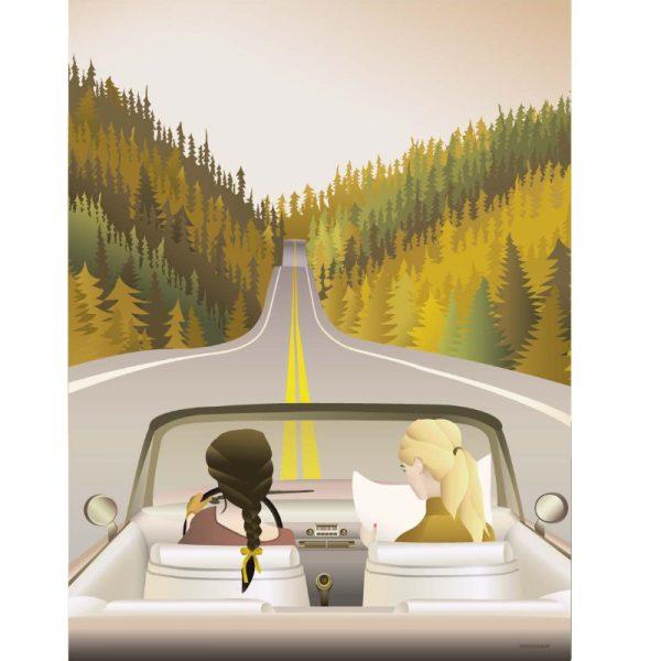 Vissevasse Poster Road Trip