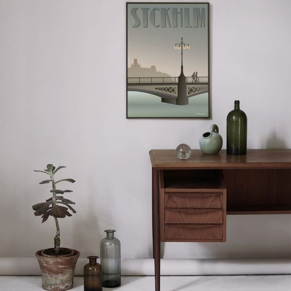 Vissevasse Poster Stockholm Vasa brug 2