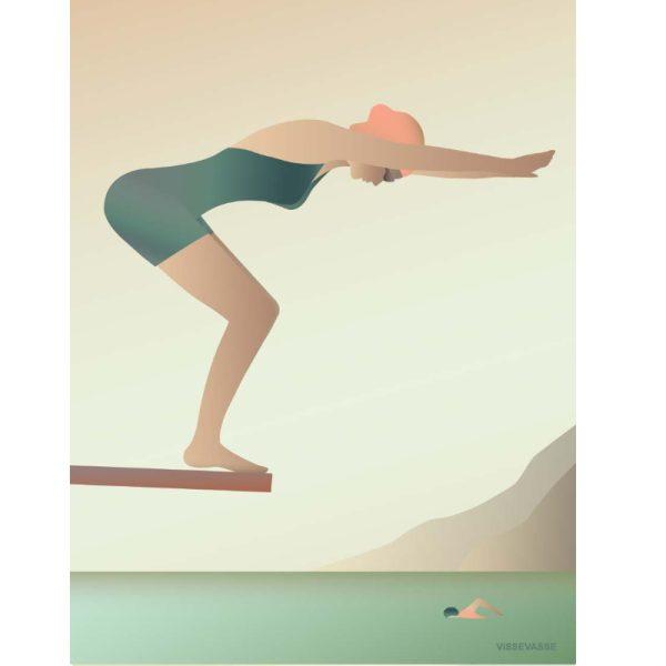 Vissevasse Poster The Swimmer