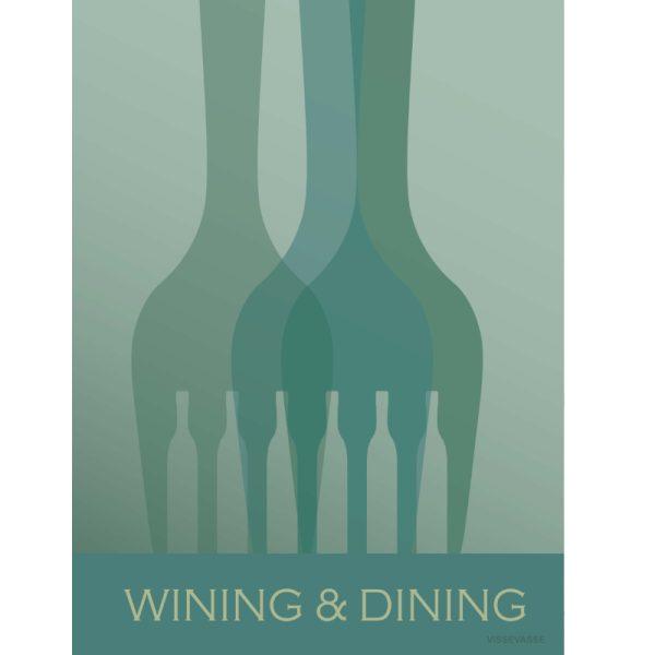 Vissevasse Poster Wining & Dining