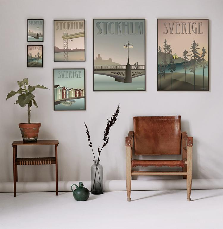Vissevasse Posters Scandinavian cities
