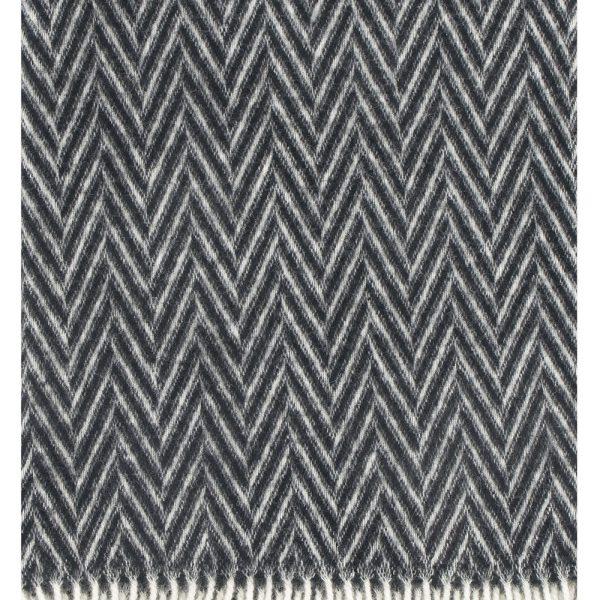 Lapuan-Kankurit-Iida-deken-plaid-zwart-wit