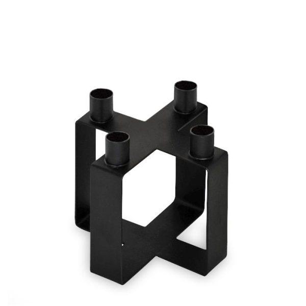 Novoform - Kandelaar X Frame zwart